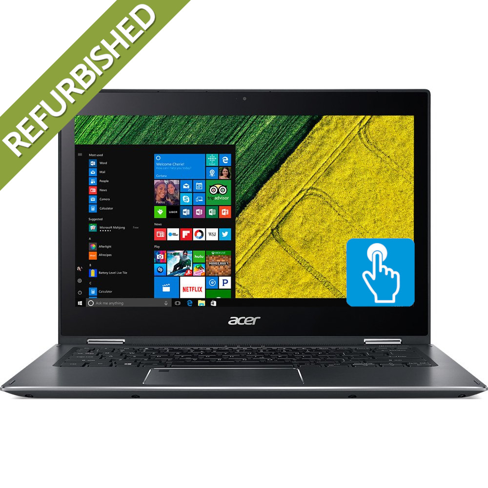 img-Laptop Acer Spin 5 SP513-52N – 13.2″ FHD, Touch, Intel i5 8250U, 8GB RAM, 256GB SSD, Cam, Win 10